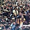 Začátky festivalů a hippies