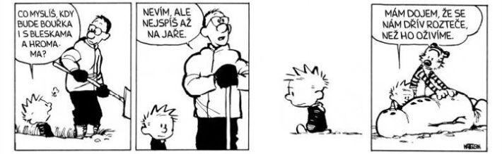 Calvin a Hobbes: Pomsta hlídaných