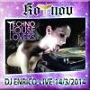 DJ Enrico - Live @ Kotnov, Tábor 14.3. 2014