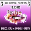 DJs Enrico, Kifli vs. Sanders, Orbith @  Festia vs. Unique 13.3. 2015