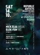 REPUBLIC ARTISTS W/ NICK ELIA LIVE (UK), ELEK-FUN (UK)