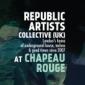 Republic Artists již tuto sobotu v Chapeau Rouge