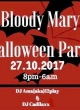 BLOODY MARY HALLOWEEN PARTY