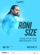 RONI SIZE PRES. NEW FORMS LIVE