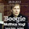 Soutěž o věcné ceny a vstupy na Boogie s Matthiasem Vogtem