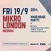Vyhraj volný vstup na party Mikro London