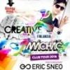 Soutěž o 2x2 vstupy na Creative presents Mácháč club tour s Ericem Sneo