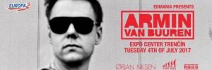 Soutěž o 2 balíčky k akci Armin Van Buuren In Trenčín