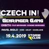 Soutěž o 2x2 vstupy na akci Czech In! w/ Gehringer Gang